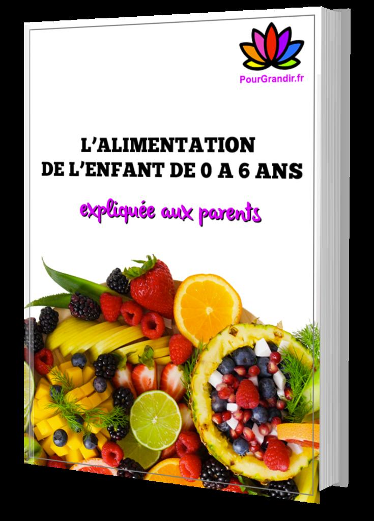 Guide Alimentation Enfant de 0 à 6 ans
